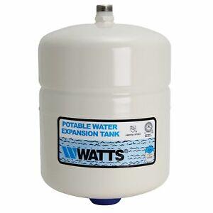 "Watts DET-5 Water Heater Expansion Tank, 3/4"" MIP, 2.1 Gallon, Max 150 PSI"