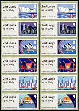 NCR ERRORS 2nd + 2nd LARGE ON SEA TRAVEL in MATCHED STRIPS/6 ERROR POST & GO
