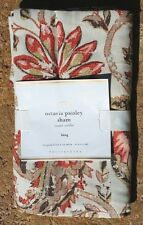 POTTERY BARN ~ OCTAVIA PAISLEY KING SHAM ~ 2 AVAILABLE ~ NEW BEDDING