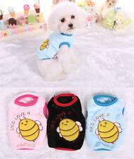 Small Teacup Dog Clothes Pet Soft Vest Warm Hoodie Cute Pajamas Puppy Sweater