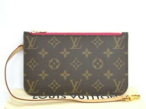 Louis Vuitton Accessory Pouch for Neverfull M41245 Monogram Brown K101800618