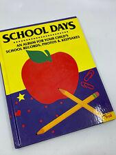 SCHOOL DAYS, An Album For Your Child's School Records, Photos Keepsakes Troll