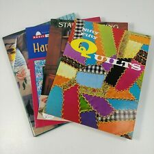 Quilt Books Nifty Fifty Start Quilting Hand Applique Treasury of Patterns Lot #1
