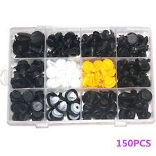150PCS Car Body Plastic Push Pin Rivet Fasteners Trim Moulding Clip Assortment