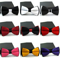 Men Fashion Bow Tie Adjustable Novelty Tuxedo Wedding Party Bowtie Necktie