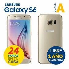 TELEFONO MOVIL SAMSUNG GALAXY S6 G920F 32GB ORO GOLD GRADO A