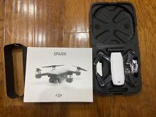 DJI Spark, Portable Mini Drone, Alpine White, Drone only, No Remote Control