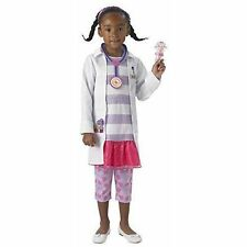 Fancy Dress Costume Girls Disney Doc McStuffins Child Ages 2-6 Official Lice