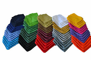 4x Unfilled Cornhole Bags, ACA Certified Regulation Size & 20 Colors Available
