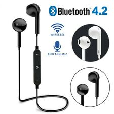 4.2Wireless Bluetooth Earphone Headphone Headset Sports Stereo For All Phones CA