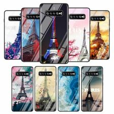 Paris Paisaje Funda para Teléfono Francia Torre Eiffel Brillo Samsung S10 S20