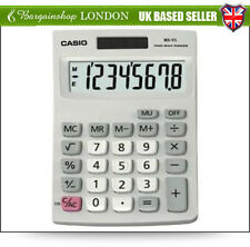 Brand New Casio Mx-8s Desk Top Calculator, Ideal for Student & Office workers