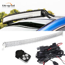 For Dodge PROMASTER CITY 50in 288W Curved LED Work Light Bar KIT Combo Offroad