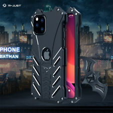 Tough Guy BATMAN Light Metal Shockproof Bumper Case for iPhone 5 to X 11 12 Pro