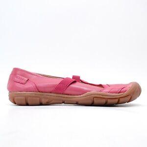 New Keen Womens Rivington Criss Cross Ballerina Pearl CNX Shoe US 7 EU 37.5