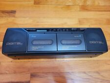 Dak Industries MRC5000 World Band Receiver MB SW1 SW2 FM Dual Cassette