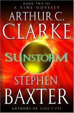 Sunstorm (A Time Odyssey, Book 2) Clarke, Arthur C., Baxter, Stephen Hardcover
