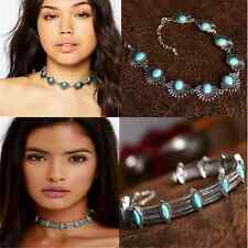 Fashion Chic Boho Ethnic Collar Choker Necklace Statement Bohemian Turquoise FT