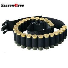 "52"" 25Round Shotgun Shell Ammo Belt Nylon Sling Bandolier for .410 12 20 24 GA"