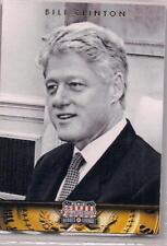 2012 Panini Americana Heroes & Legends Bill Clinton