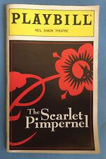 THE SCARLET PIMPERNEL Playbill 1999 Ron Bohmer + Carolee Carmello + Marc Kudisch
