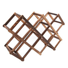 Wooden Red Wine Rack 3/6/10 Bottle Mount Holder Kitchen Exhibition Organizer