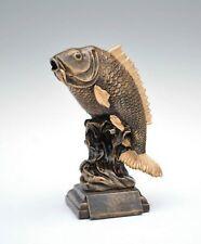 Pokal Figur Fisch Angeln Karpfen inkl. Wunschgravur 26 cm