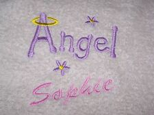 """""""PERSONALIZED EMBROIDERED  BATH/SWIMMING TOWEL"""" 100% COTTON"""