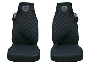 Volvo FH4 , FL , FE after 2014 Truck Seat Covers 2 piece BLACK