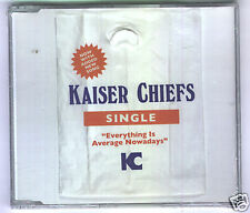 Kaiser Chiefs - Everthing is Average Nowadays CD NEW