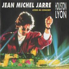 JEAN MICHEL JARRE - CITIES IN CONCERT HOUSTON/LYON - RARE CD