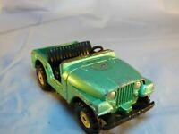 Vintage Corgi Toys Flying Club Decals Jeep CJ-5 Metallic Green no.49 Toy Car