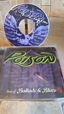 POISON BRET MICHAELS AUTOGRAPH CD BEST OF BALLADS & BLUES EVERY ROSE HAS A THORN