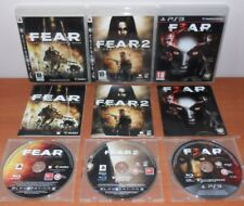 F.E.A.R. Trilogy Trilogía (FEAR 1 2 3,Project Origin,F.3.A.R.) PS3 Ver. Española