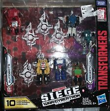 Transformers War for Cybertron Siege Autobots vs Decepticons 10-pack (6 Only)