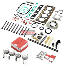 Engine Cylinder Rebuild Overhaul Kit For VW AUDI A3 A4 1.8 TFSI CDAA CDHA CDHB