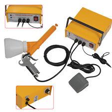 Electric Powder Coating System Spray Gun Auto Body Coat Machine Paint Gun Kit