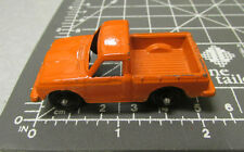 Tootsie Toy, Orange Pickup Truck, rubber wheels, excellent collectible