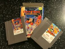 2 NINTENDO NES PAL GAMES DISNEY'S CHIP 'N DALE RESCUE RANGES  +DISNEY DUCK TALES