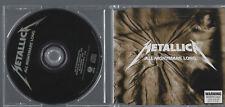 "METALLICA ""ALL NIGHTMARE LONG"" 4 Track Australia CD mit 3 Live Tracks"