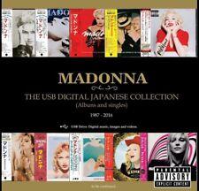 Madonna USB Japan Digital Collection Limited Edtion Rebel Heart Tour Vogue MDNA