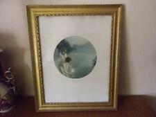 Paul CHABAS  les pêcheuses de lune , lac d'Annecy héliogravure BRAUN & cie