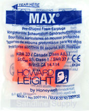 MAX noise ear plugs Howard Leight 37dB work, sleep, snore, Noise Reduction HIGH