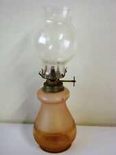 Antique Lamp Pot Glass Frosted - Style Pigeon - Old Lamp