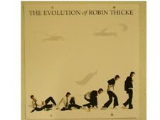 The Evolution Of Robin Thicke Poster Flat