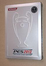PES 2013 Pro Evolution Soccer Steelbook G1 Konami No Game / kein Spiel