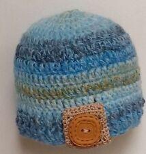 Handmade Boys' Striped Baby Caps & Hats