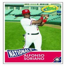 Alfonso Soriano 2006 Nationals eTopps Card In Portfolio