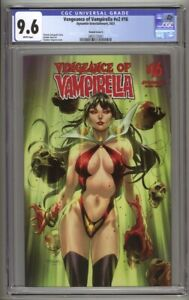 Vengeance of Vampirella #16 Stephen Segovia Variant Cover C CGC 9.6 (2021)