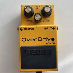 Boss OD3 Overdrive Guitar Effect Pedal Used From Japan